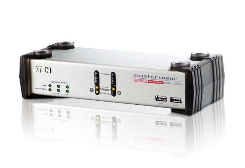USB 2.0-KVME™-Switch mit 2 Ports-1