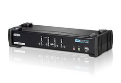 4-Port USB DVI Dual Link/Audio KVMP™ Switch