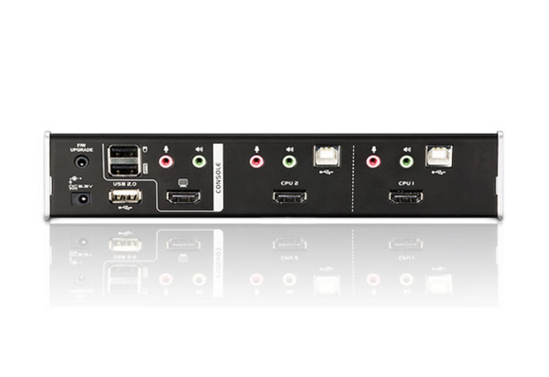 2-Port USB HDMI/Audio KVMP™ Switch-2