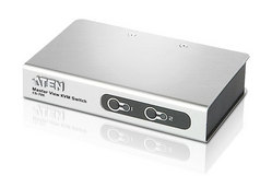 2-Port PS/2 VGA Slim KVM Switch