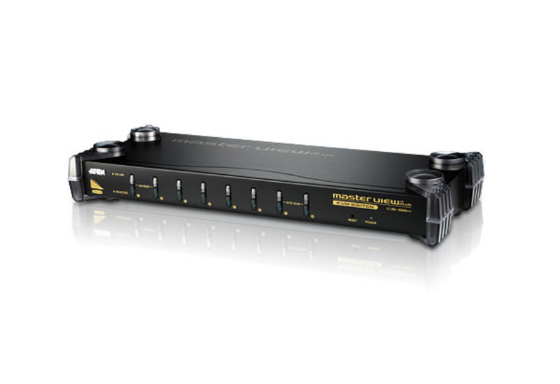 8-Port PS/2 KVM Switch-2
