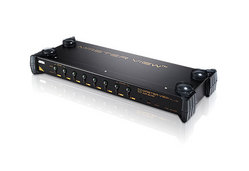 8-Port PS/2 VGA KVM Switch