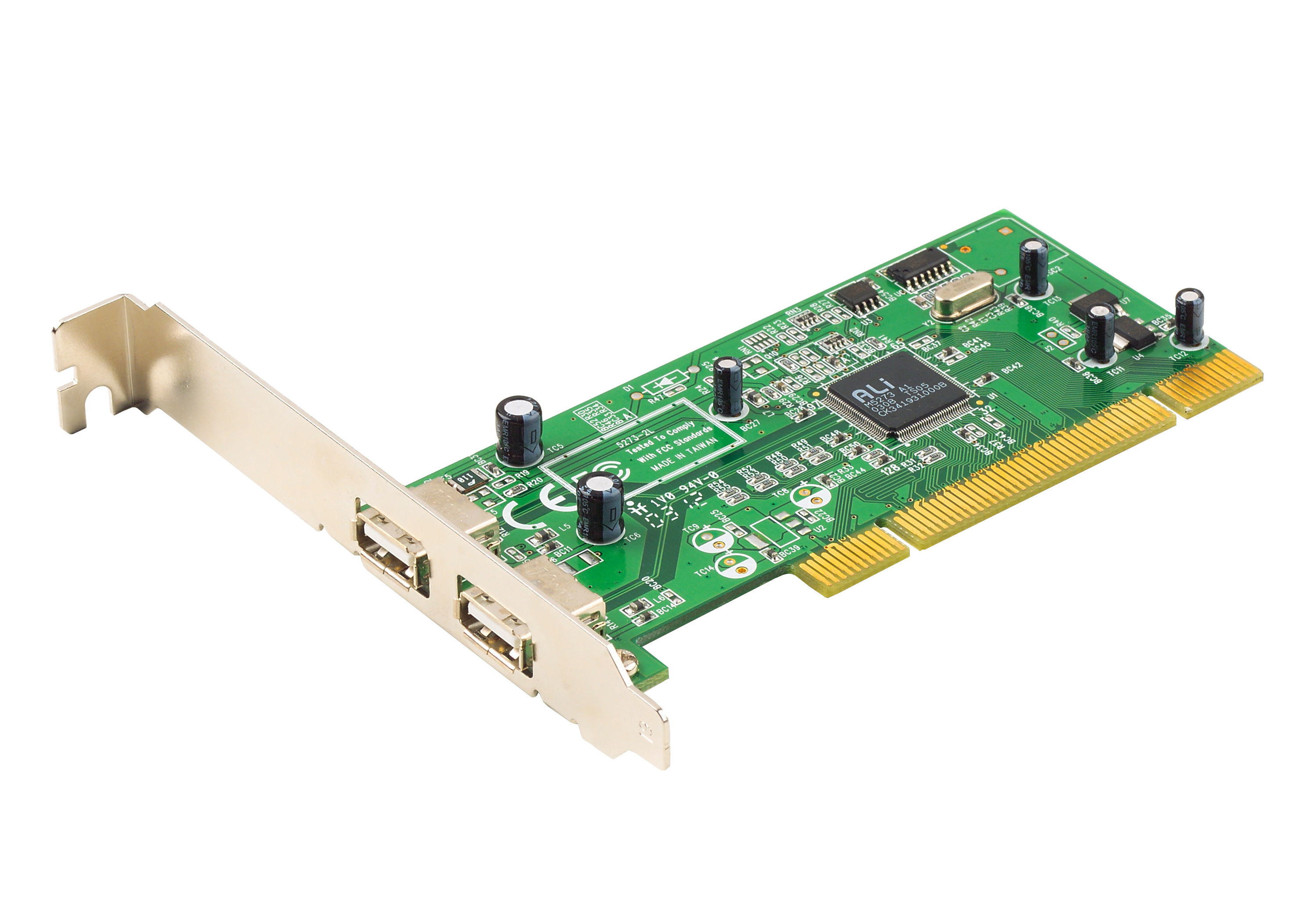 2-Port USB 2.0 PCI Card-1