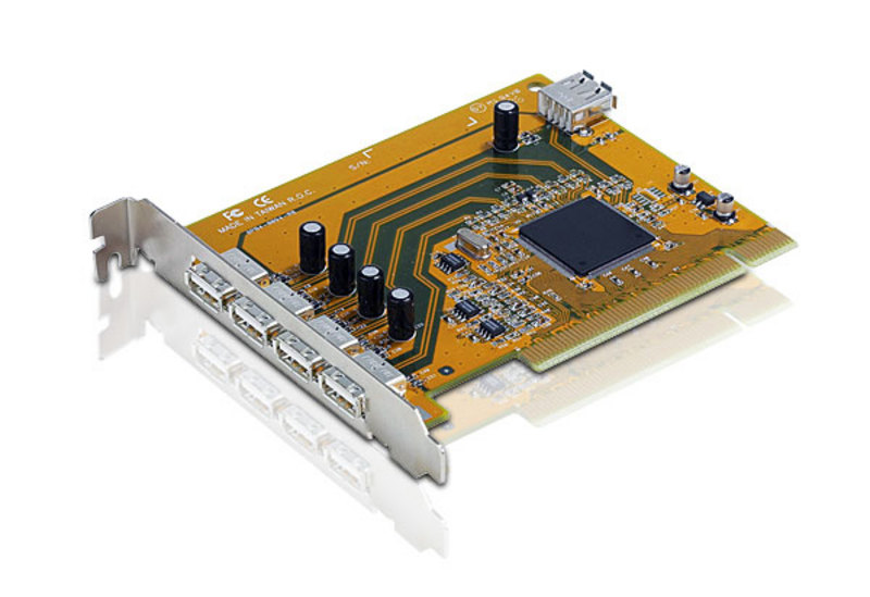 5-Port USB 2.0 PCI Card-1