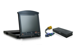 16 Port Dual Rail 17in. KVM & IP Access Bundle