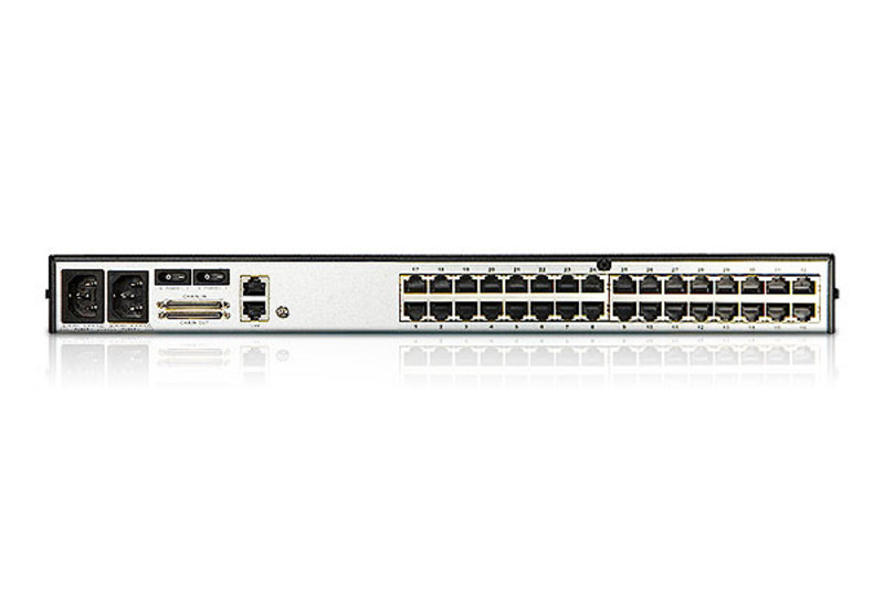 32-Port Cat 5 Erweiterungsmatrix KVM Switch mit Daisy-Chain Port-2