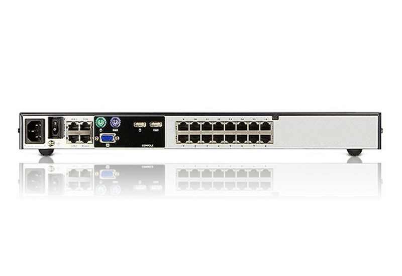 1-Local/2-Remote Access 16-Port Cat 5 KVM over IP Switch-2
