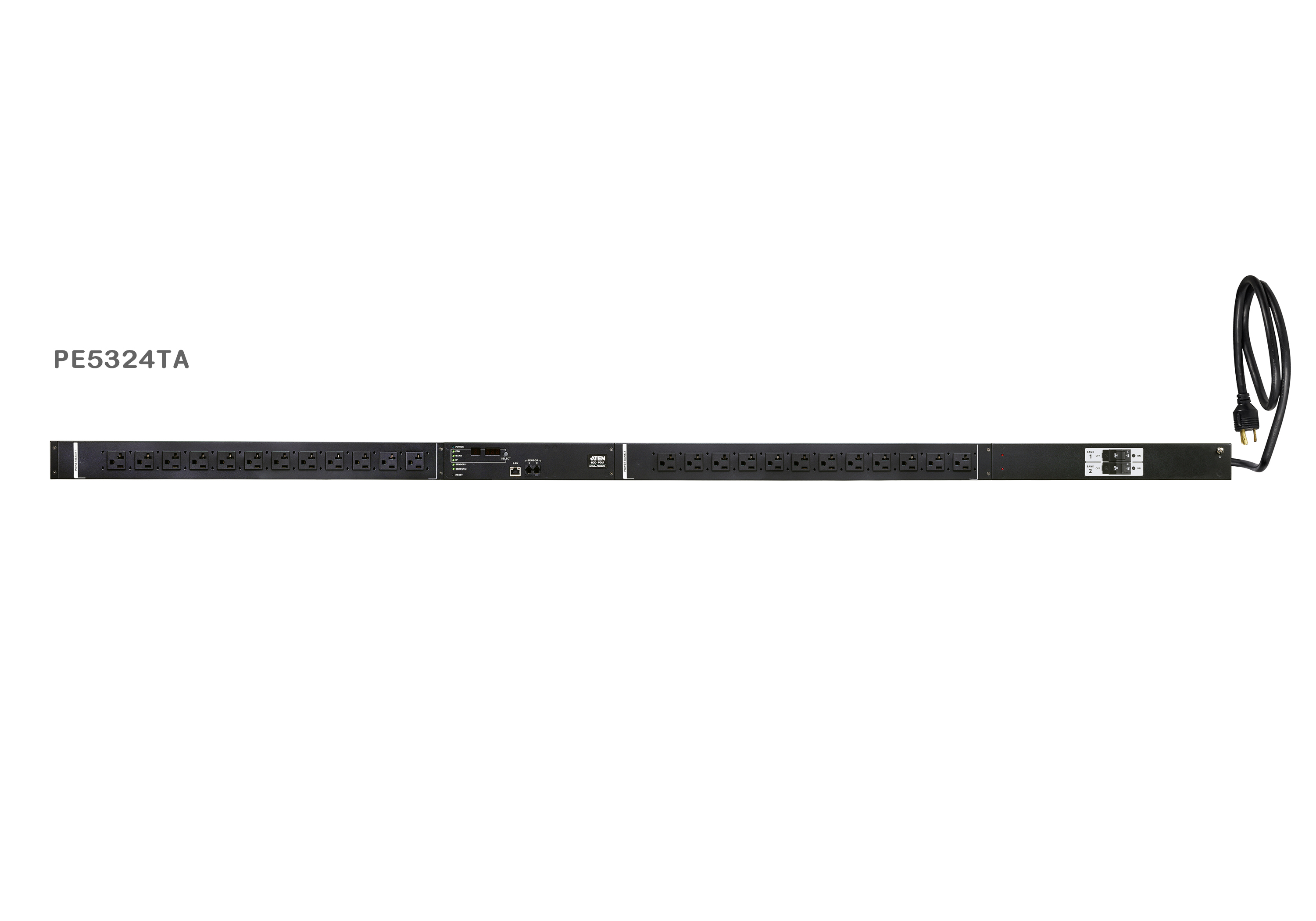 30A 24-Outlet Metered Thin Form Factor eco PDU-1