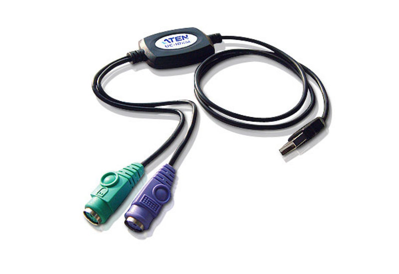 PS/2 to USB Adapter (90cm)-1