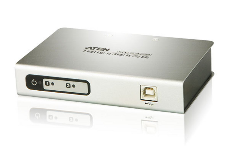 2-Port USB to RS-232 Hub-1