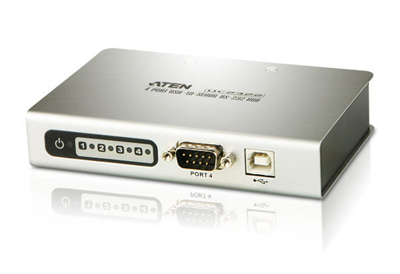 4-포트 USB to RS-232 허브-1