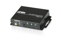 VGA/Audio to HDMI Converter with Scaler