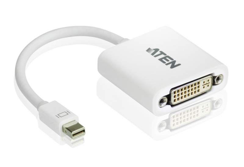 Adapter Mini DisplayPort do DVI-1