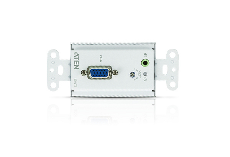 VGA/Audio Cat 5 Extender Wall Plate (US) (1280 x 1024@150m)-3