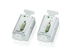 DVI/Audio Cat 5 Extender Wall Plate (US) (1920 x 1200@40m)