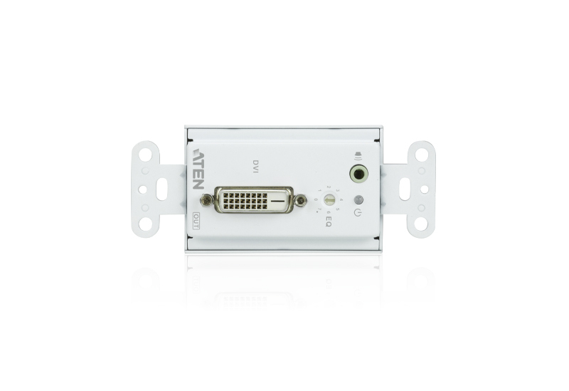DVI/Audio Cat 5 Receiver Wall Plate (US) (1920 x 1200@40m)-3