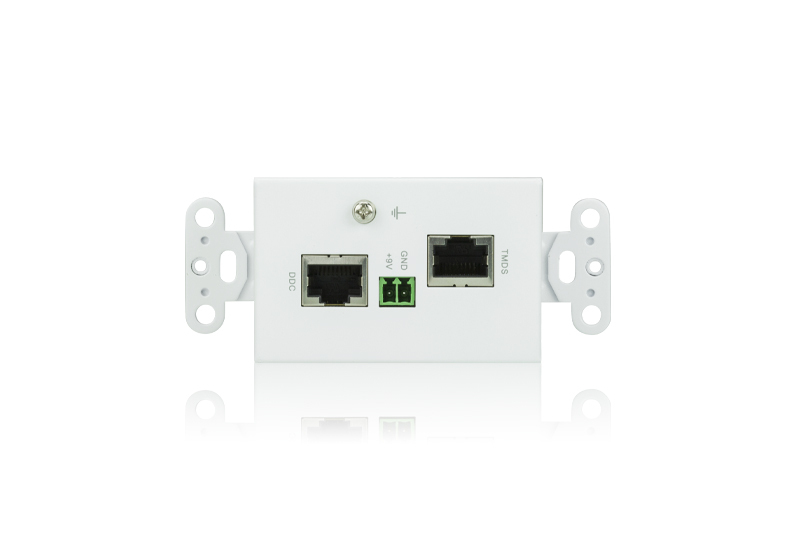 DVI/Audio Cat 5 Receiver Wall Plate (US) (1920 x 1200@40m)-2