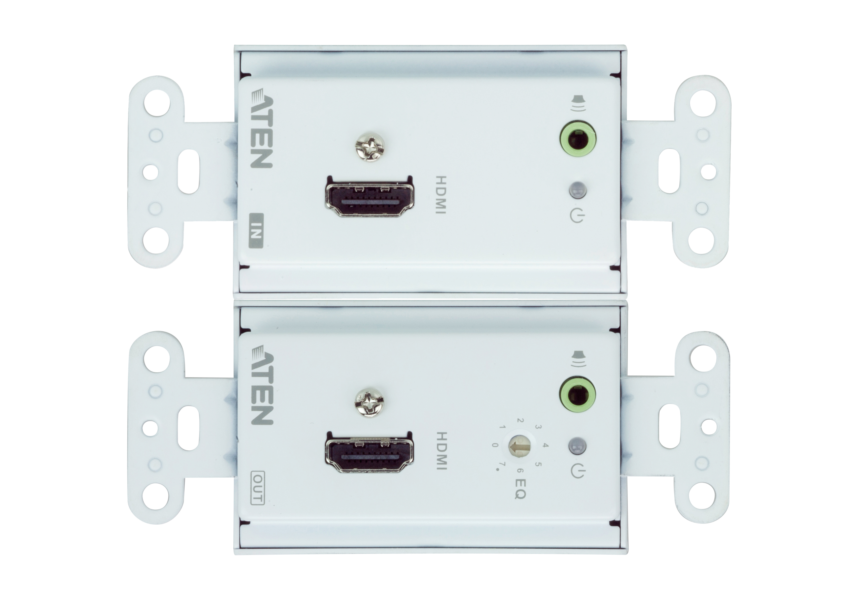 HDMI/Audio Cat 5 Extender Wall Plate (1080p@40m)-3