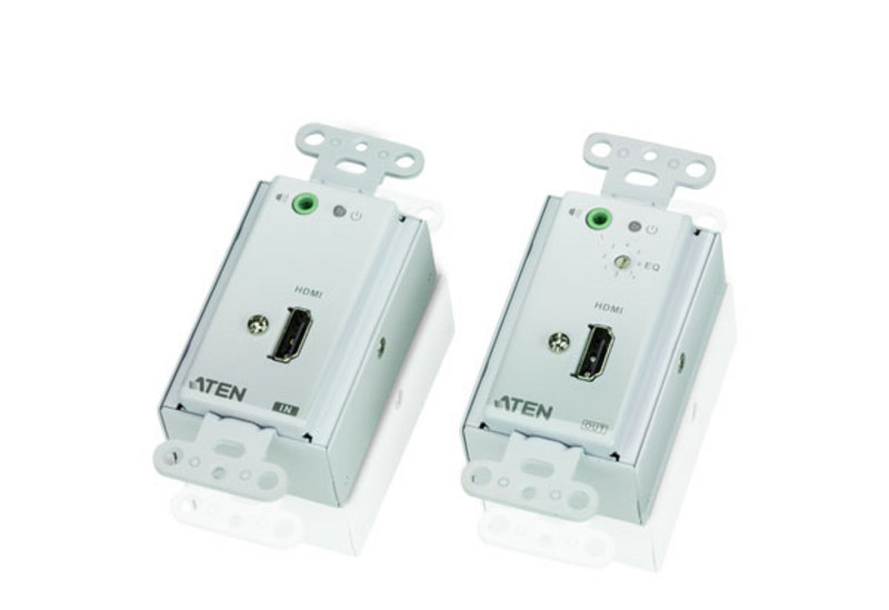 HDMI/Audio Cat 5 Extender Wall Plate (US) (1080p@40m)-1