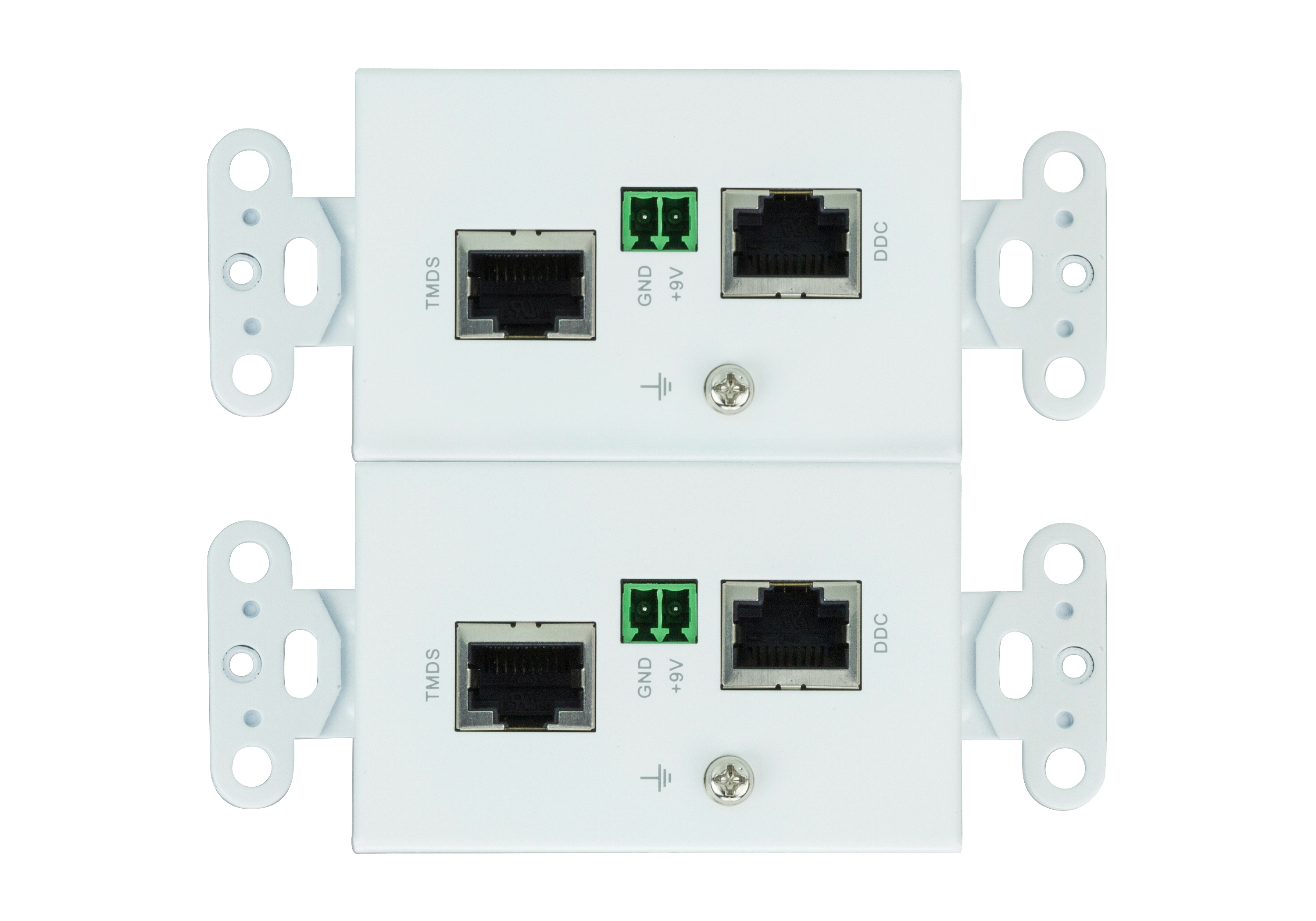 HDMI/Audio Cat 5 Extender Wall Plate (US) (1080p@40m)-2