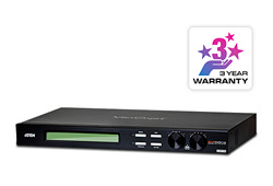 Conmutador de matriz VGA/Audio Cat 5 16x16