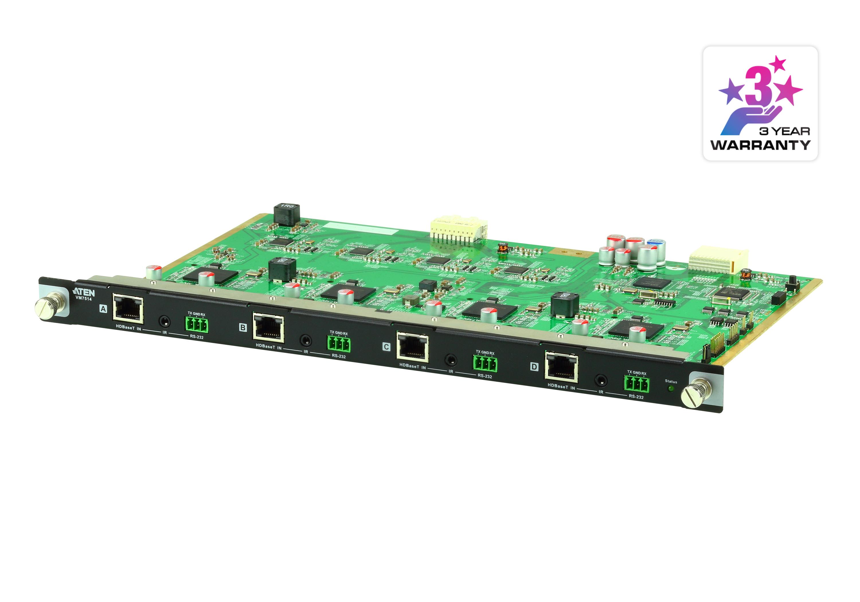 4-Port HDBaseT Input Board - VM7514, ATEN Modular Matrix Switches