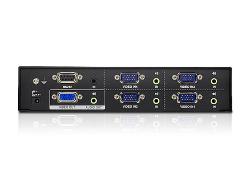 4-Port VGA/Audio Switch-2