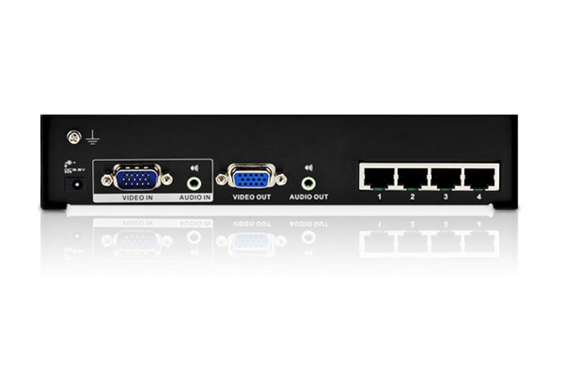 4-Port VGA/Audio Cat 5 Splitter-2