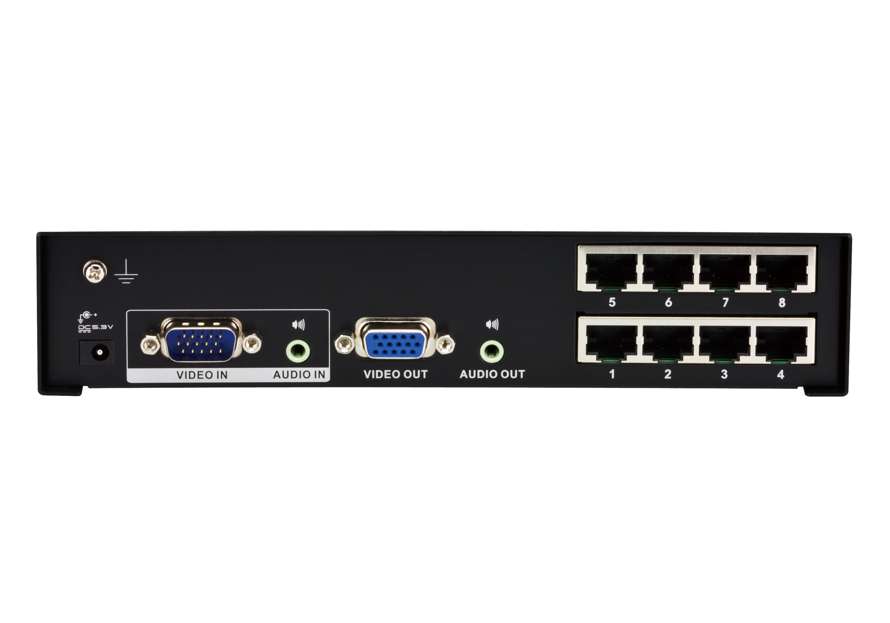 8-Port VGA/Audio Cat 5 Splitter-2