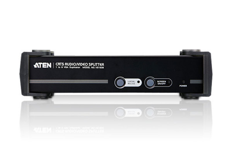 8-Port Cat 5 Audio/ Video Splitter-3