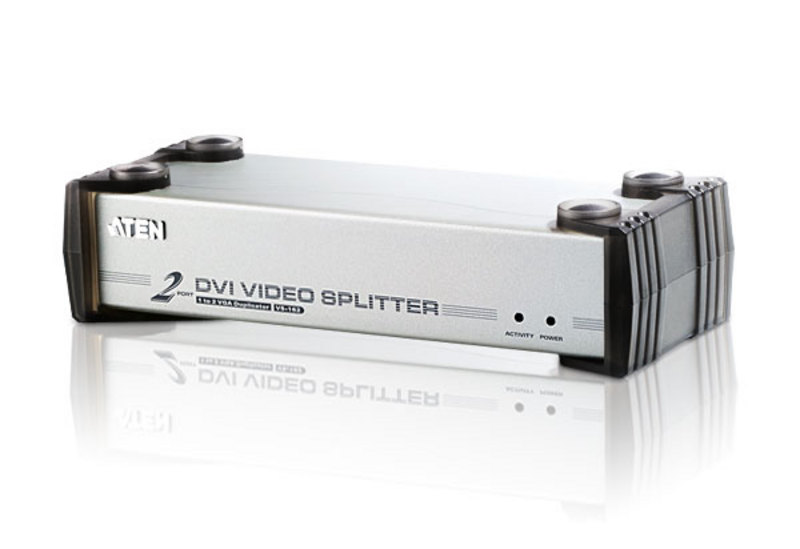 Splitter DVI/Audio 2-porte-1