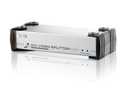 2-Port-DVI/Audio-Splitter