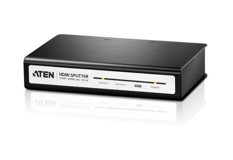 Splitter audio/video HDMI a 2 porte-2