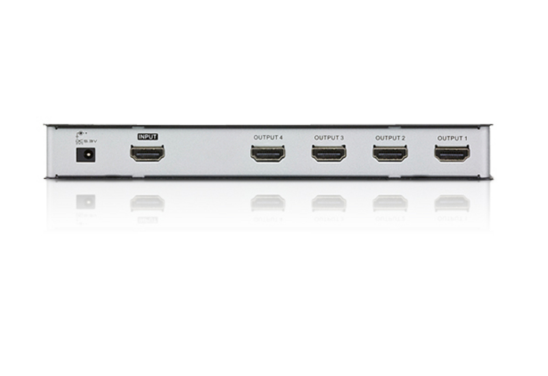 4-Port 4K HDMI Splitter - VS184A, ATEN Video Splitters
