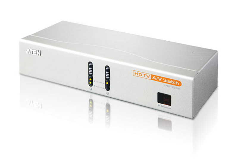 2-Port HDTV A/V Switch-1