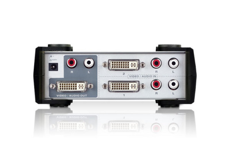 2-Port-DVI/Audio-Switch-2