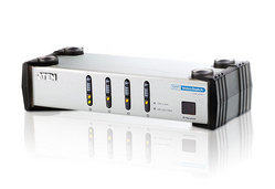 Commutateur DVI/audio 4 ports