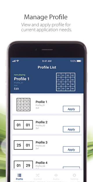 ATEN Video Matrix Control App – Mobile App-3