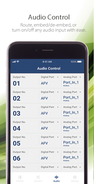 ATEN Video Matrix Control App – Mobile App-6