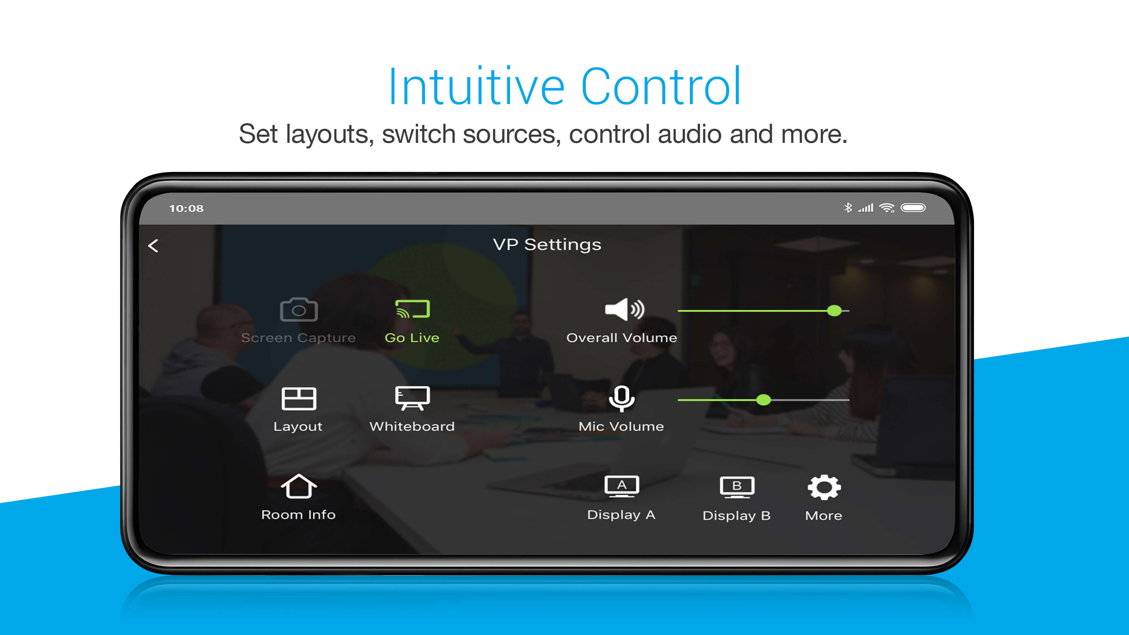 Collaborate and Control Meeting Presentations with your mobile device-6