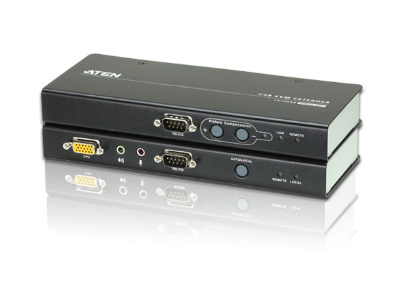 USB VGA/Audio Cat 5 KVM Extender (1280 x 1024@200m)-1