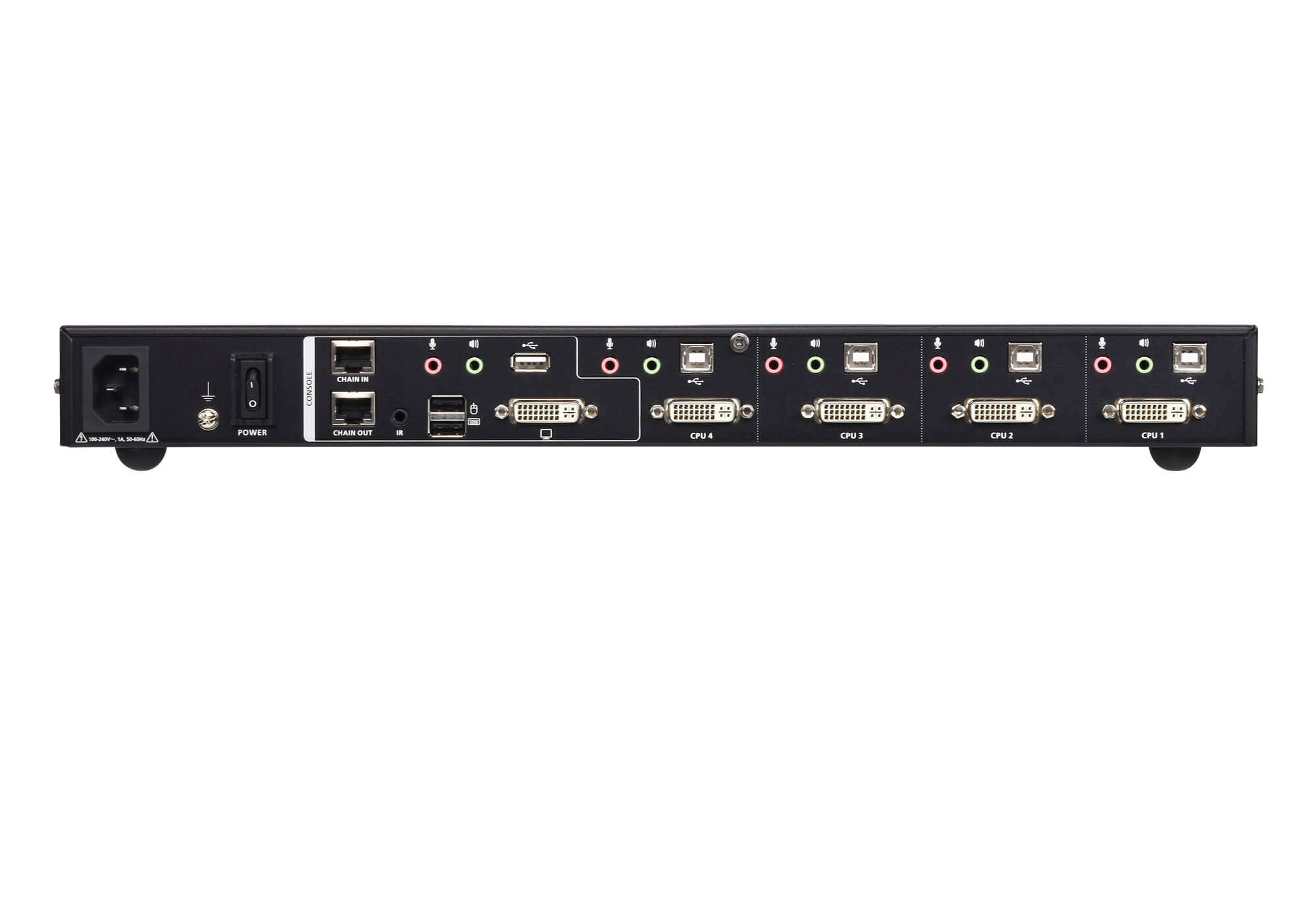 4-Port USB DVI Multi-View KVMP™ Switch-2
