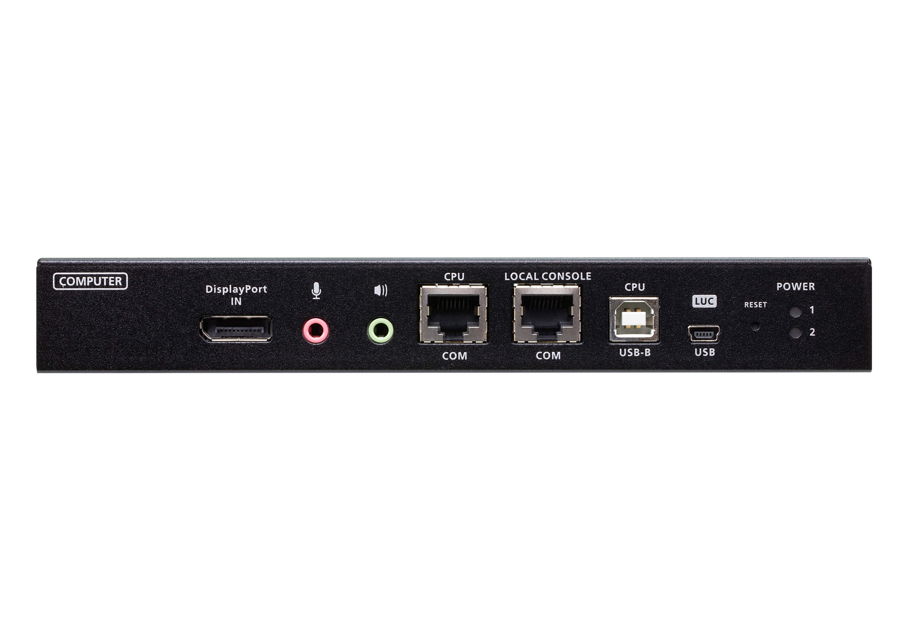 1-Local/Remote Share Access Single Port 4K DisplayPort KVM over IP Switch-3