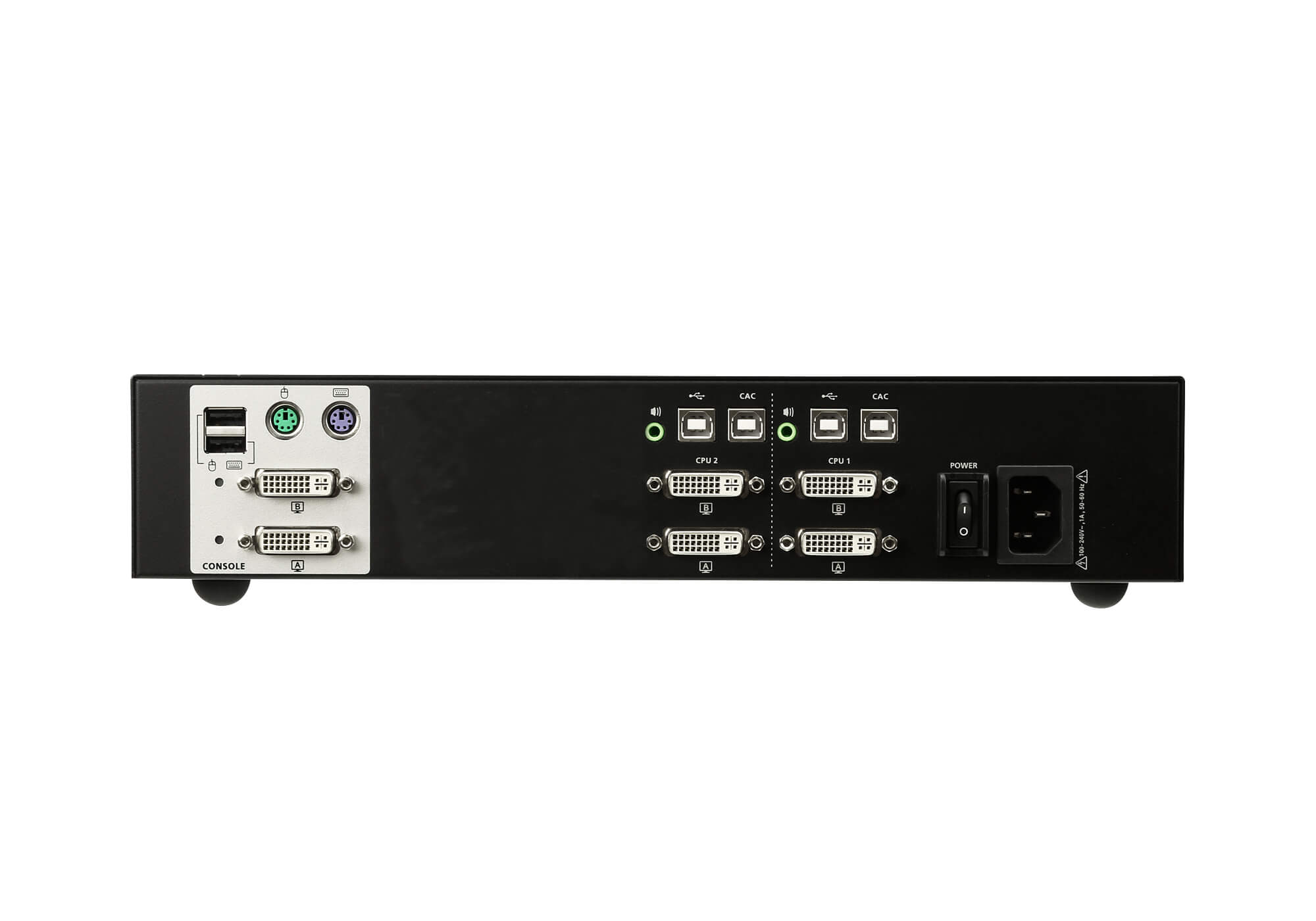 2-Port USB DVI Dual Display Secure KVM Switch (PSS PP v3.0 konform)-2