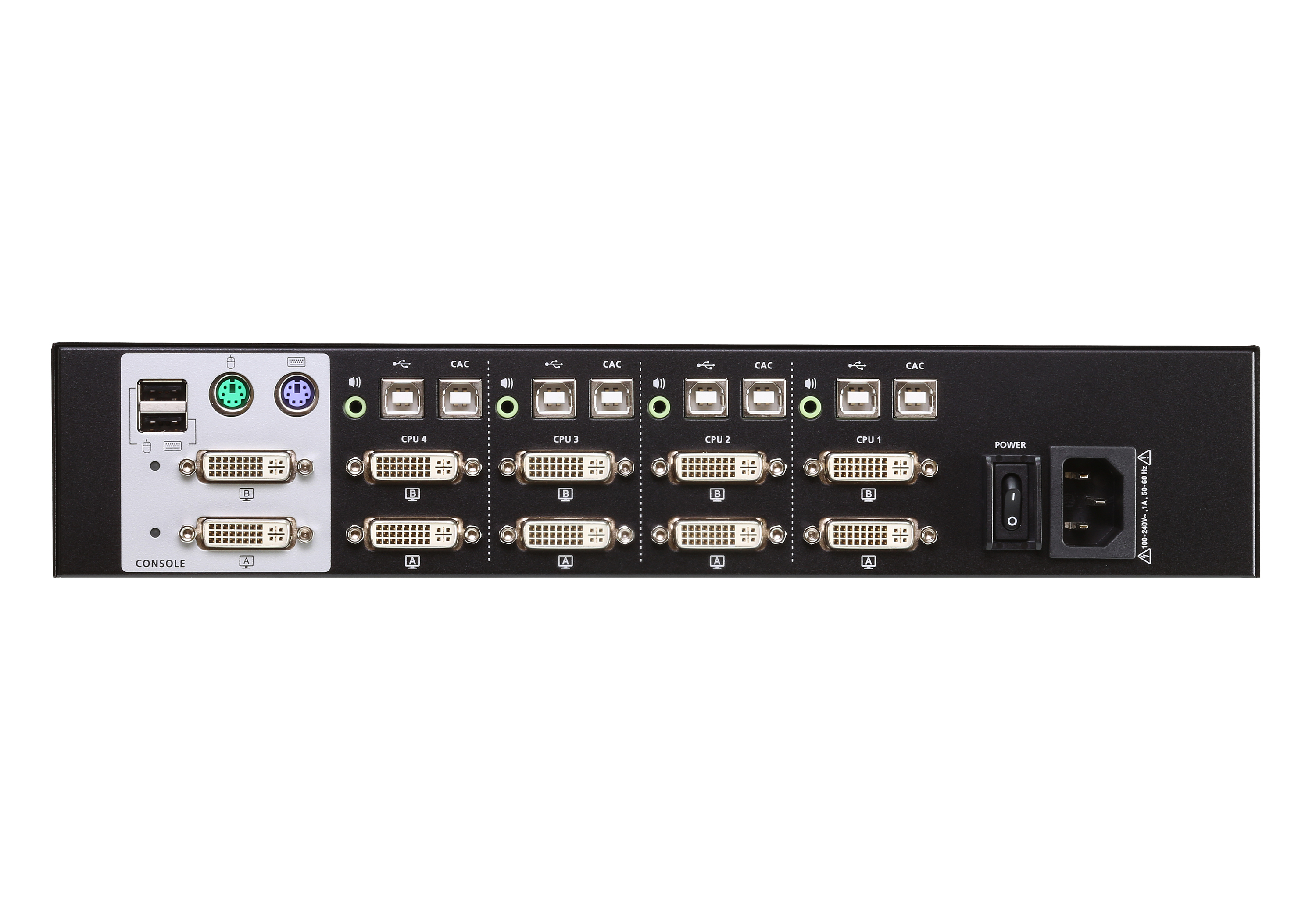 4-Port USB DVI Dual Display Secure KVM Switch (PSS PP v3.0 konform)-2