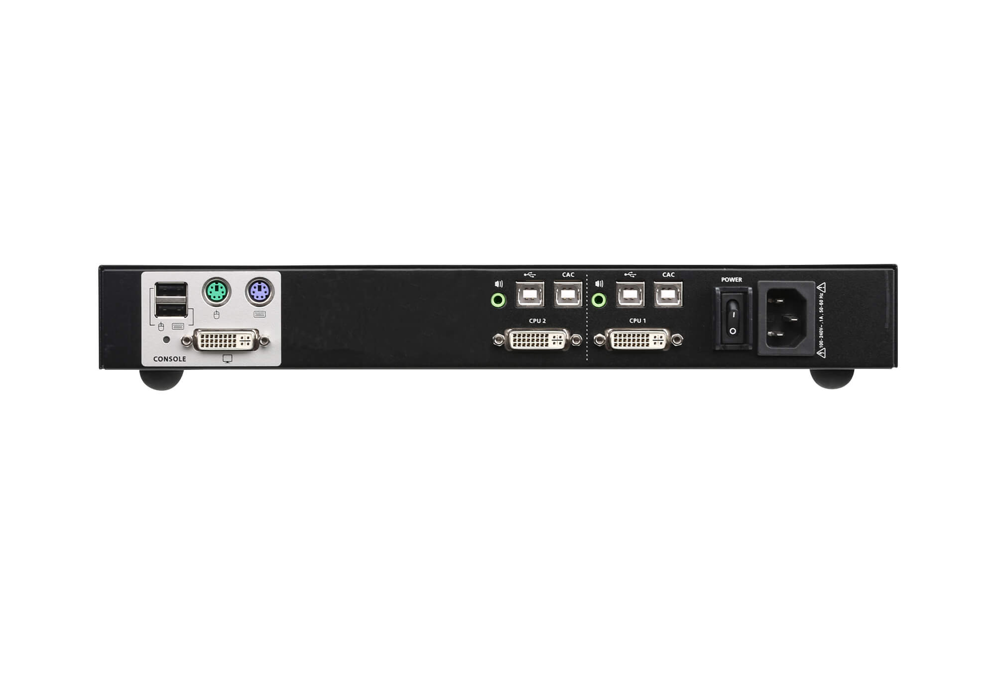 2-Port USB DVI Secure KVM Switch (PSS PP v3.0 Compliant)-2
