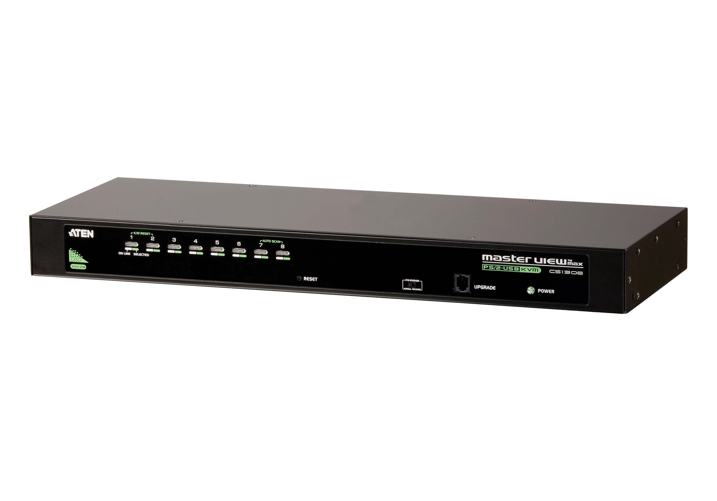 8-Port PS/2-USB VGA KVM Switch