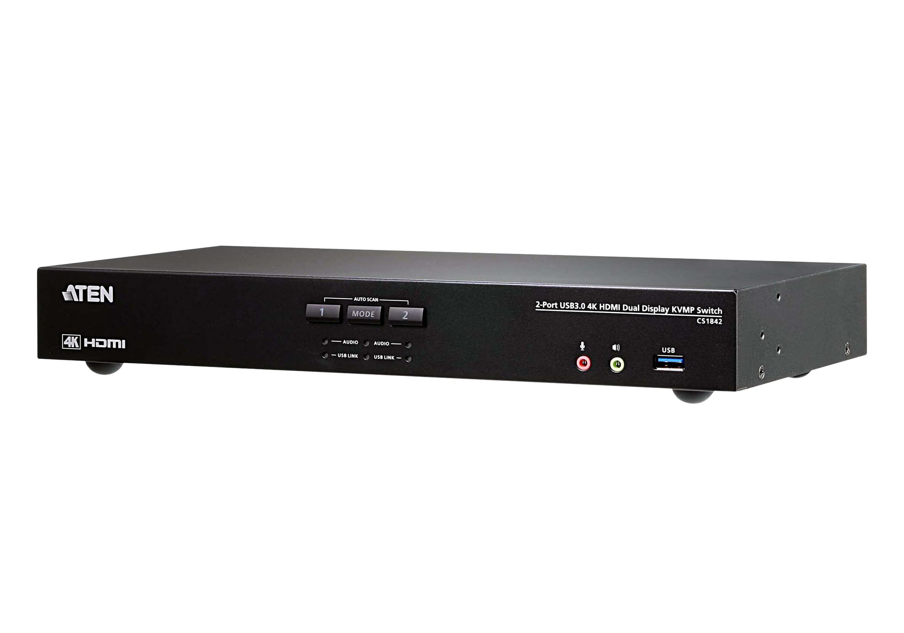 2-Port USB 3.0 4K HDMI Dual Display KVMP™ Switch-2