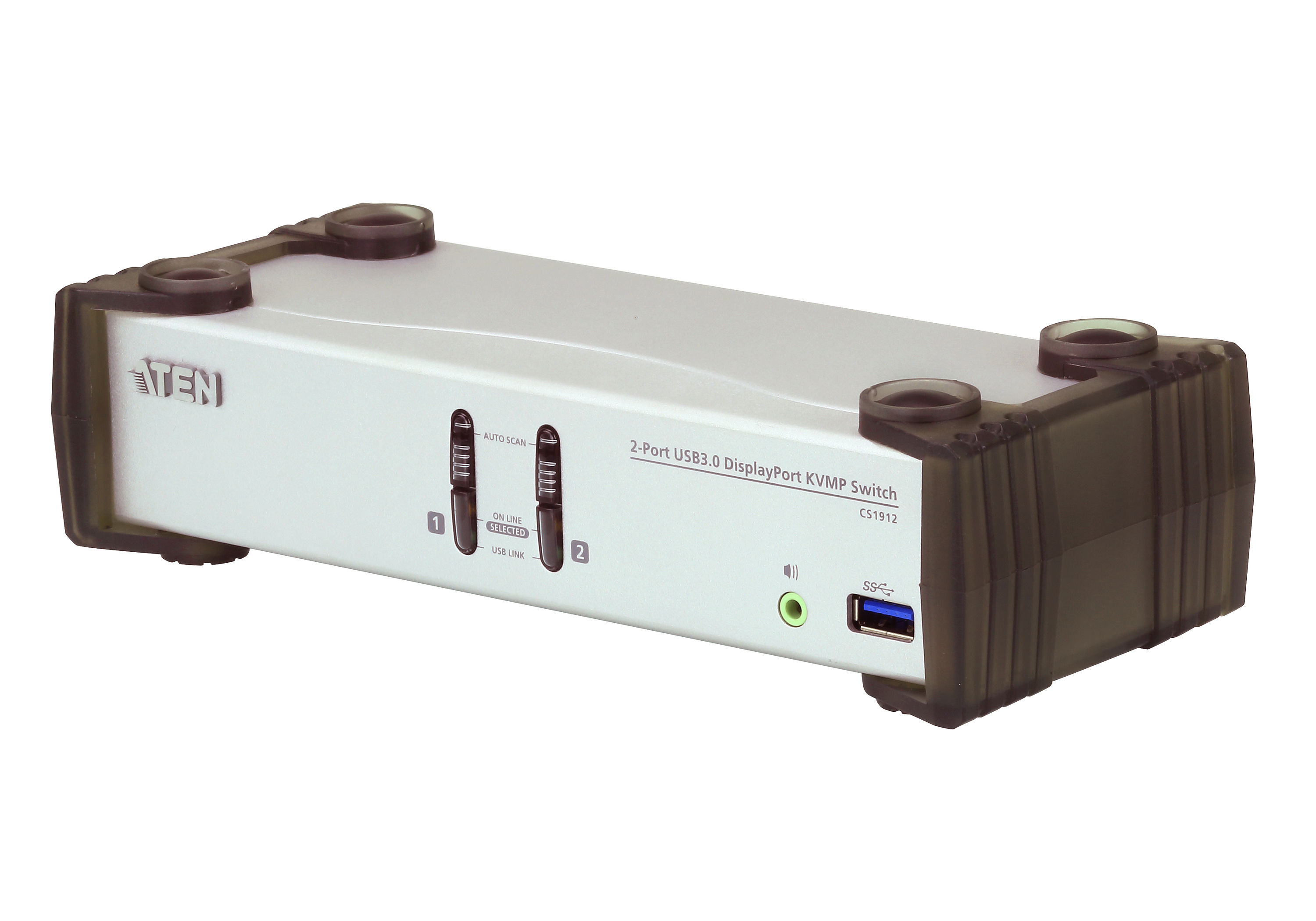 2-портовый, USB 3.0, DisplayPort KVMP™-коммутатор (кабели в комплекте)-1