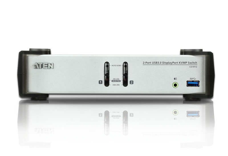Switch USB 3.0 DisplayPort KVMP™ de 2 Portas (Cabos incluídos)-3